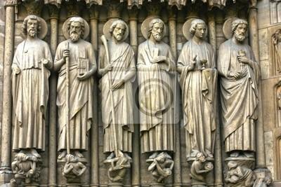 Naklejka Notre Dame de carhedral Paris