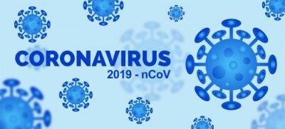 Novel Coronavirus 2019-nCoV. pandemic outbreak virus background