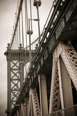Naklejka Nowy Jork Manhattan Bridge
