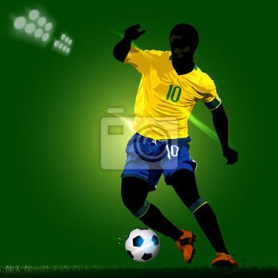 nożnej rozgrywający