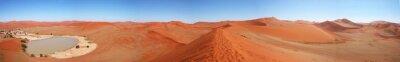 Naklejka Oasi nel deserto della Namibia