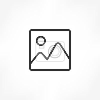 Naklejka Obraz ikony