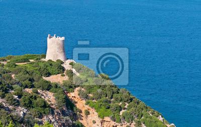Obserwacji wieży nad morzem