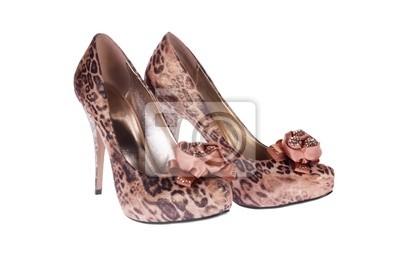 Obuwie damskie leopard