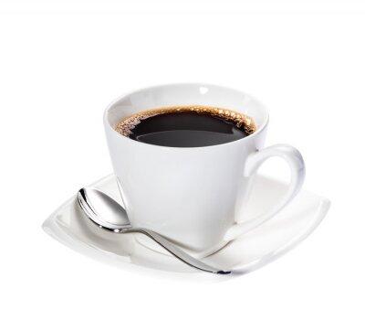 Naklejka Odizolowane kawy
