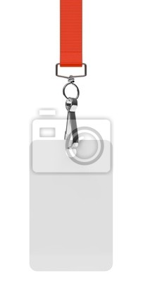 Odznaka d'accès sur fond blanc 2