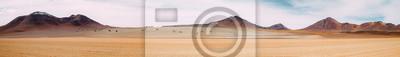 Naklejka Ogromna przestrzeń nicości - Atakama - Boliwia