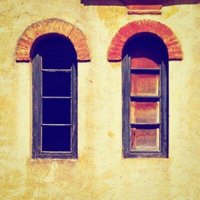 Naklejka Okna