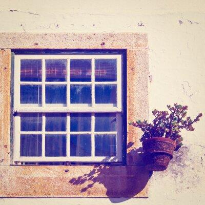 Naklejka Okno
