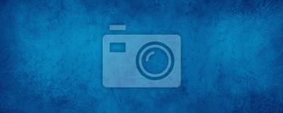Naklejka old blue paper background with marbled vintage texture in elegant website or textured paper design