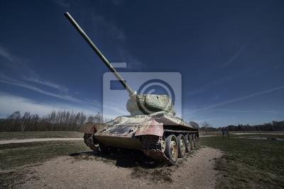 old soviet tank t34
