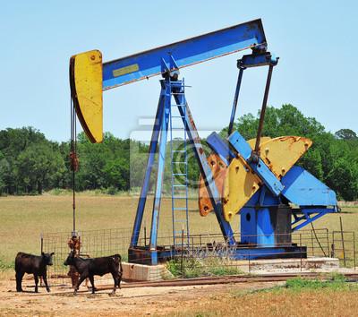 Olej Cóż Pumper w zachodnim Teksasie.