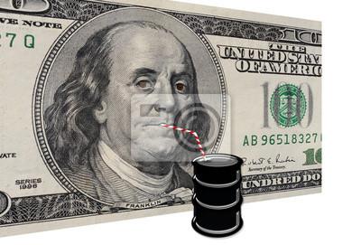 Olej Picie dolarów.