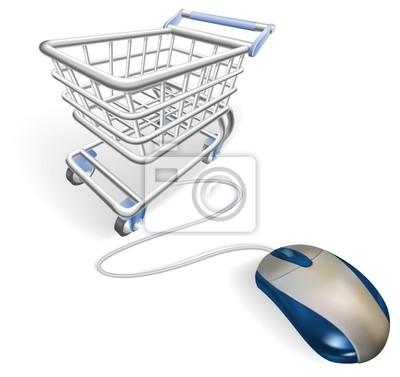 Online zakupy koncepcji internet