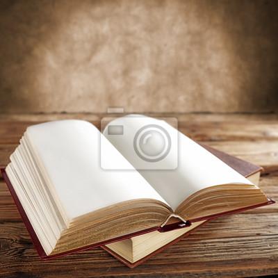 Naklejka open book