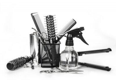 Naklejka Oprzyrządowanie fryzjerskie
