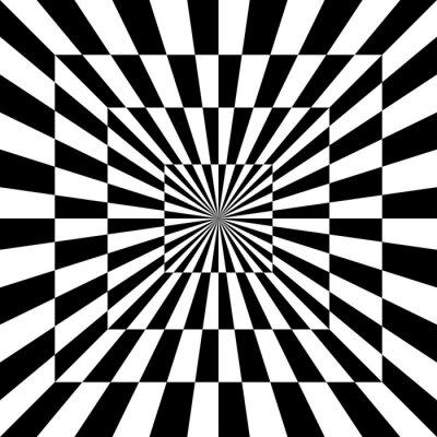 Naklejka Optical Pattern