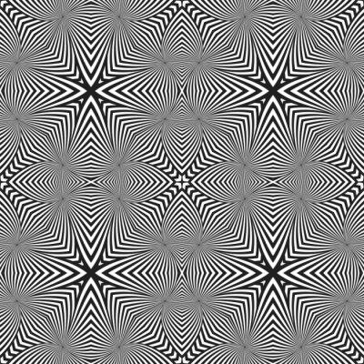 Naklejka optyczne sztuki abstrakcyjne paski bezszwowe deco wzorca.