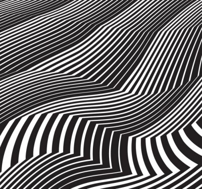 Naklejka optyczne sztuki tła abstrakcyjne grafiki w skali szarości czerni i odrobina