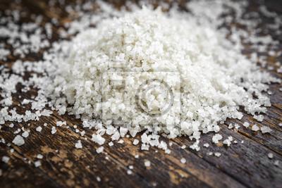Naklejka Organiczna sól morska celtycka