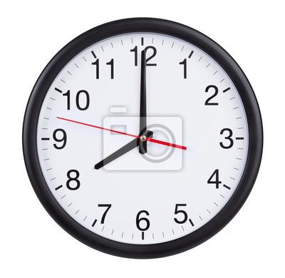 Naklejka Ósma na zegarze wybierania