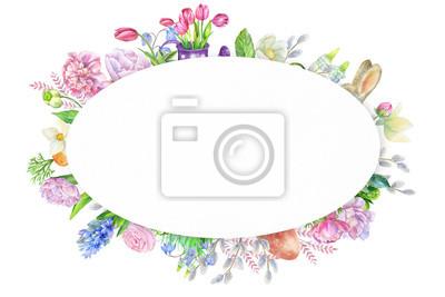 Oval spring frame