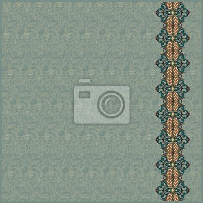 Ozdobny pasek na bezszwowe tło wzór. Abstract desig