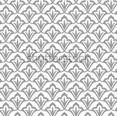 Naklejka Ozdobny wzór. Arabski wzór. Marokańskie tło.