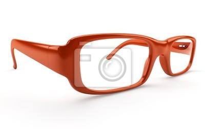 Paire de okulary sur fond blanc 1