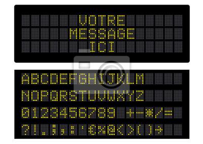Panneau d'informacje cyfrowe