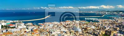 Naklejka Panorama centrum miasta Algiers w Algieria