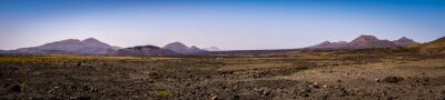Naklejka Panorama Lanzarote