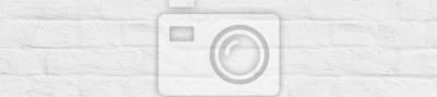 Naklejka panorama stary biały pobielony mur