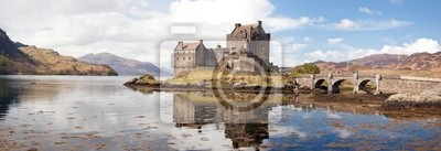 Naklejka Panorama Szkocja Eilean Donan Castle