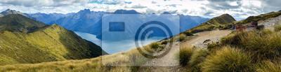 Naklejka Panoramiczny widok fiordu Parku Narodowego Kepler