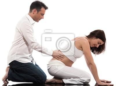 Para spodziewa się dziecka Masaż
