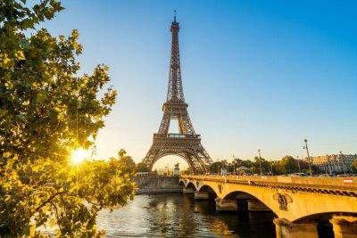 Naklejka Paris Tour Eiffel Eiffla Eiffeltower