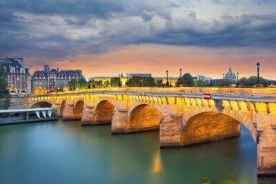 Naklejka Paryż.