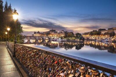 Naklejka Paryż - Pont des Arts