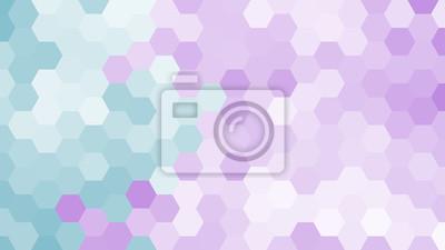 Pastel geometryczny wzór sześciokąt bez konturu.