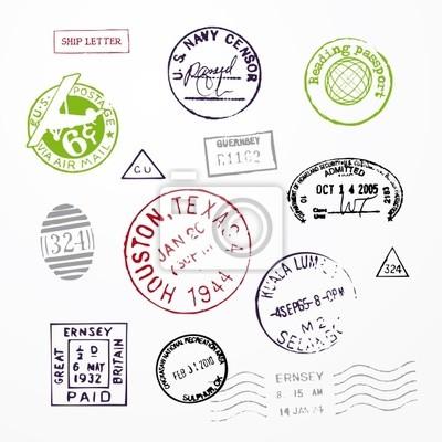 Paszport znaczków USA