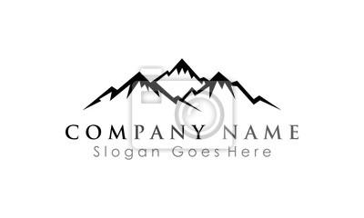 peak of mountain logo