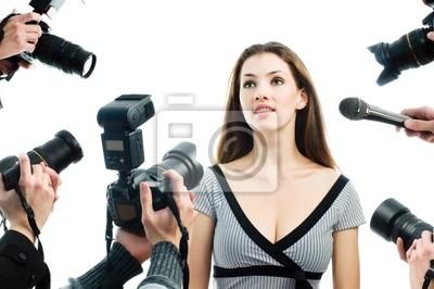 Photograthers robienia zdjęcia gwiazdy filmowej