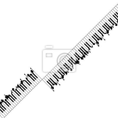 Piano zaprojektowane tła abstrakcyjna