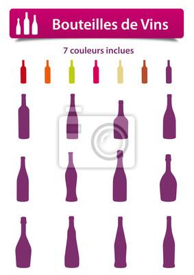 Pictos Bouteilles de Vins