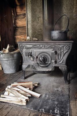 piec na drewno