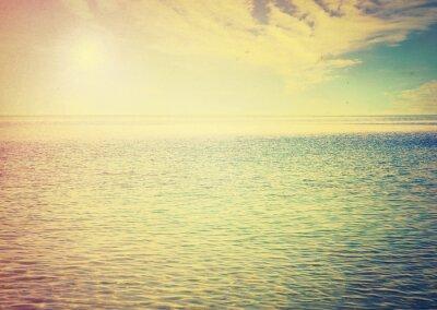 Naklejka Piękne niebo i błękitne morze