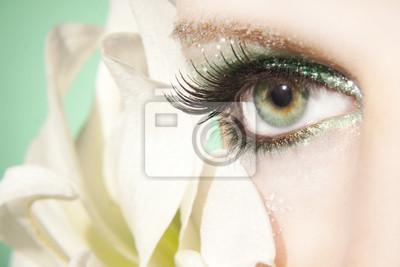 Naklejka piękne oczy