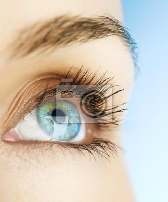 piękne oczy
