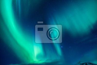 Naklejka Piękne światło Północnej